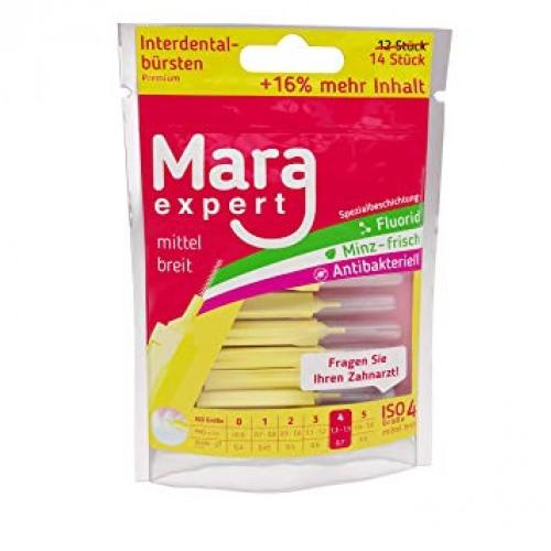 Brushes Mara Expert Yellow