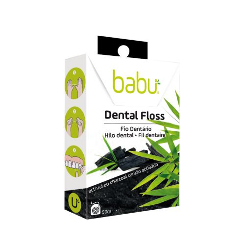 Activated Carbon Dental Floss