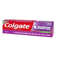 Dentífrico Colgate® Maximum Protection Cáries Menta Fresca