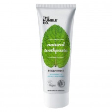 Natural fresh peppermint toothpaste Humble Brush