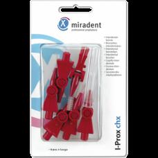 Miradent i-Prox CHX Bordeaux brushes (5mm)
