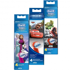 Oral-B Pack - 3 Toothrush Refills (Frozen, Cars, Star Wars)