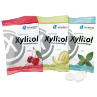 Drops of xylitol